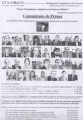 PECO TISSEMBAUM DISPARÓ CONTRA LA ADMINISTRACIÓN DE JUSTICIA DEL CHACO